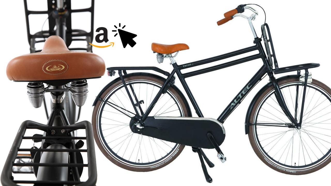 Altec Vintage 28 Zoll Herren Hollandrad Transportfahrrad