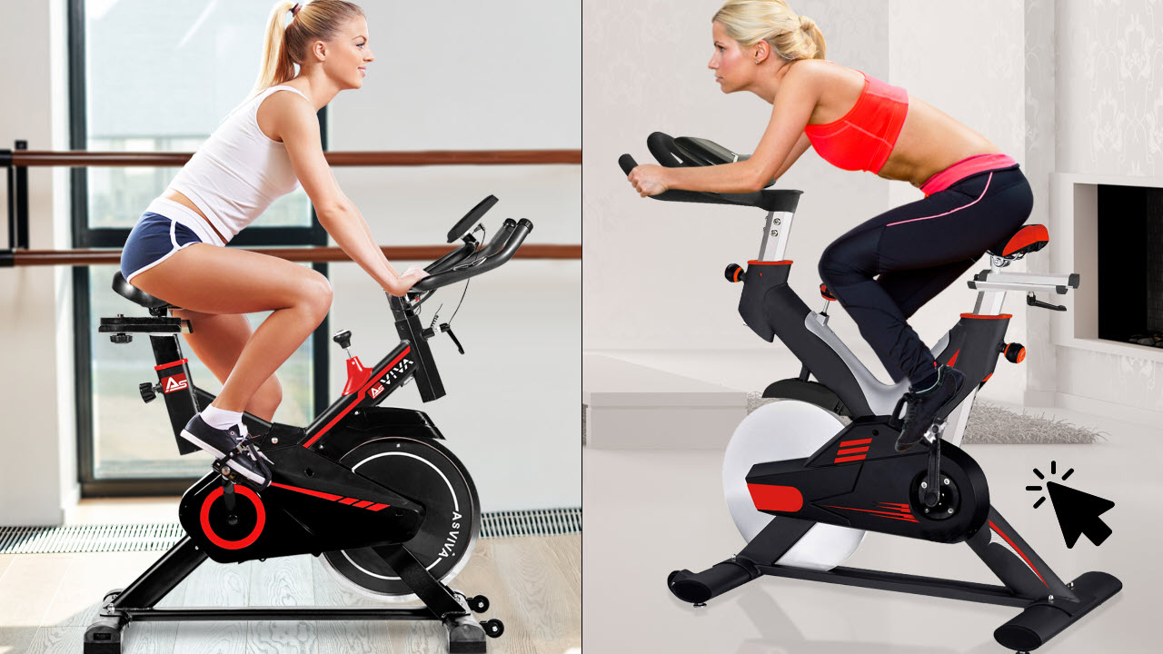 AsVIVA Indoor Cycle SpeedBike S11 & S15 mit Bluetooth