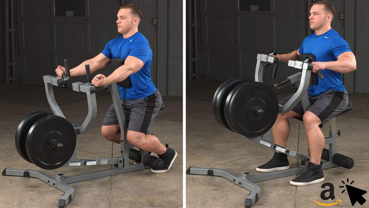 Body-Solid GSRM-40 Rudermaschine Rudergerät Rückentrainer
