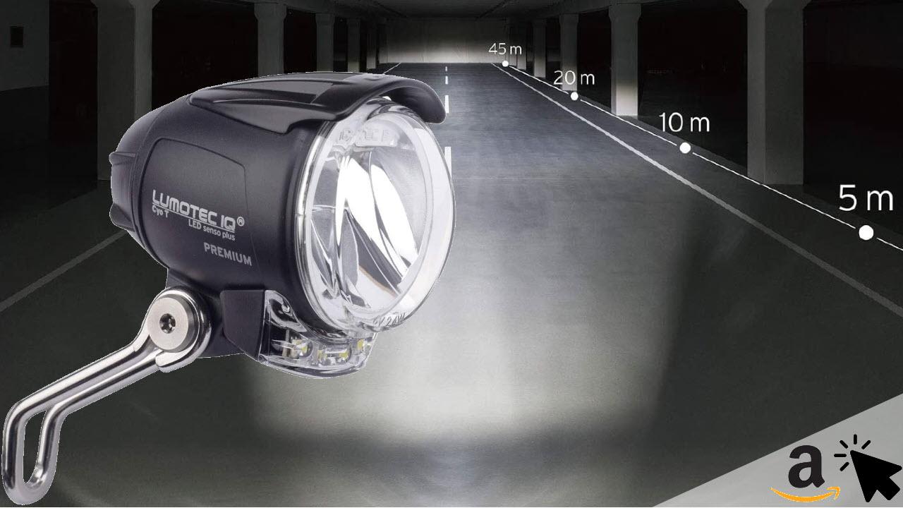 Busch & Müller Fahrrad Frontlicht Lumotec IQ Cyo Premium T senso plus