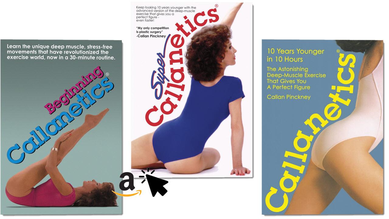 Callan Pinckney Callanetics DVDs