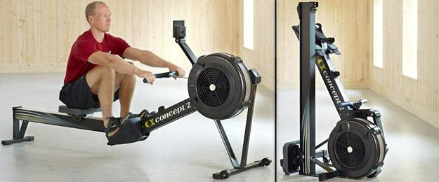 Concept2 Luftwiderstand Rudergerät Indoor Rower