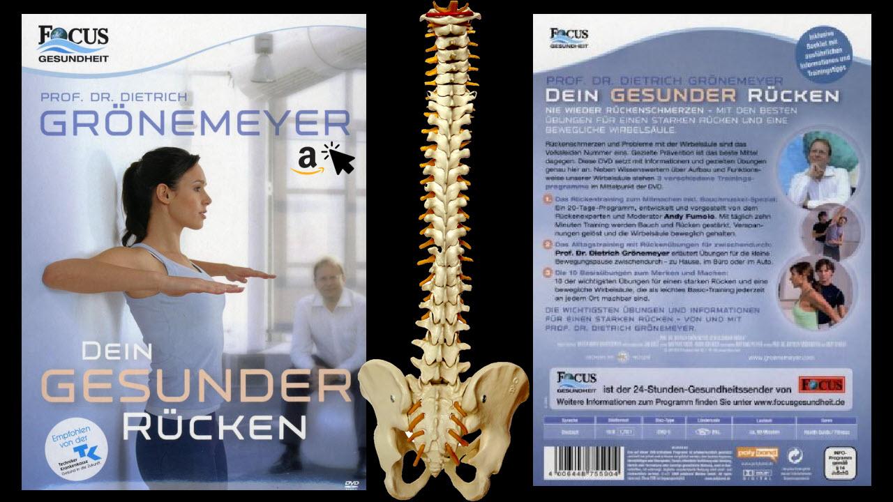 DVD - Prof Dr Grönemeyer - Dein Gesunder Rücken