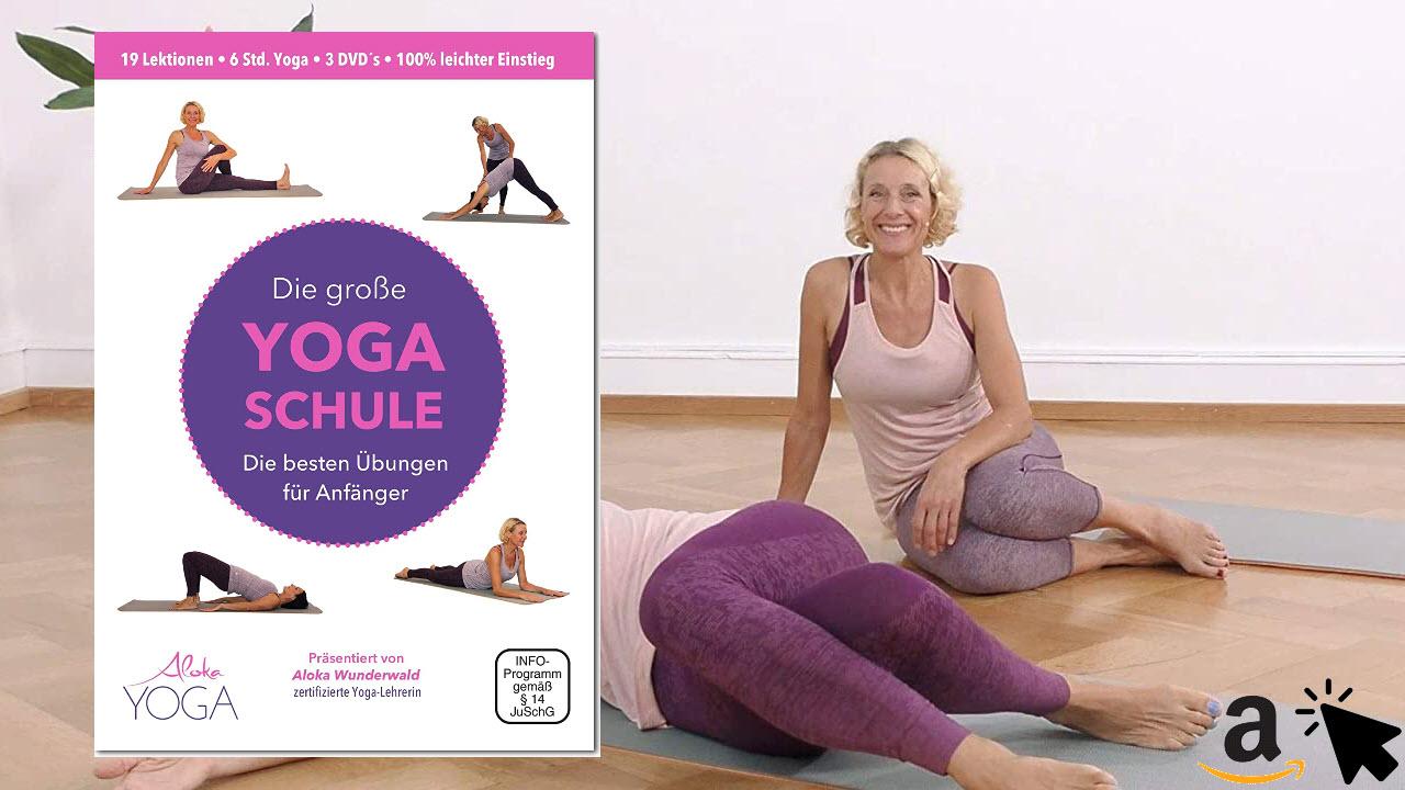 Die Große Yoga Schule DVD - die besten Übungen für Anfänger