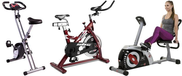 Ergometer Fitnessgeräte: Klapp-Ergometter, Indoor Cycle und Liegeergometer für zu Hause