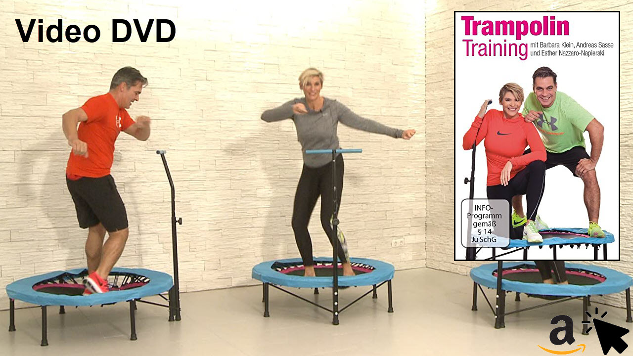 FLEXI-SPORTS DVD Trampolin Training - Fitness Übungen