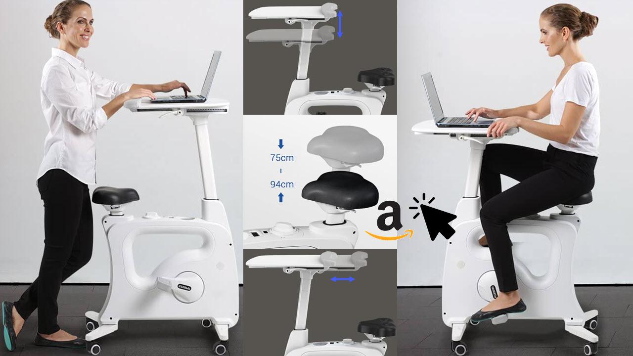 FLEXISPOT V9 Deskbike Höhenverstellbares Tischfahrrad