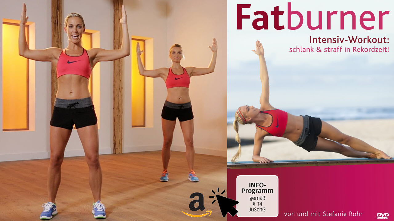 Fatburner Intensiv Workout - schlank & straff in Rekordzeit