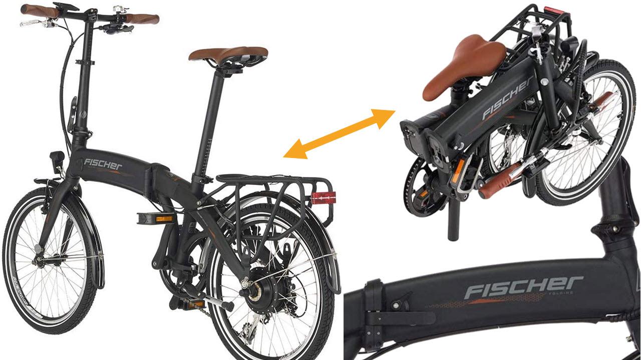Fischer E-Bike Klapprad