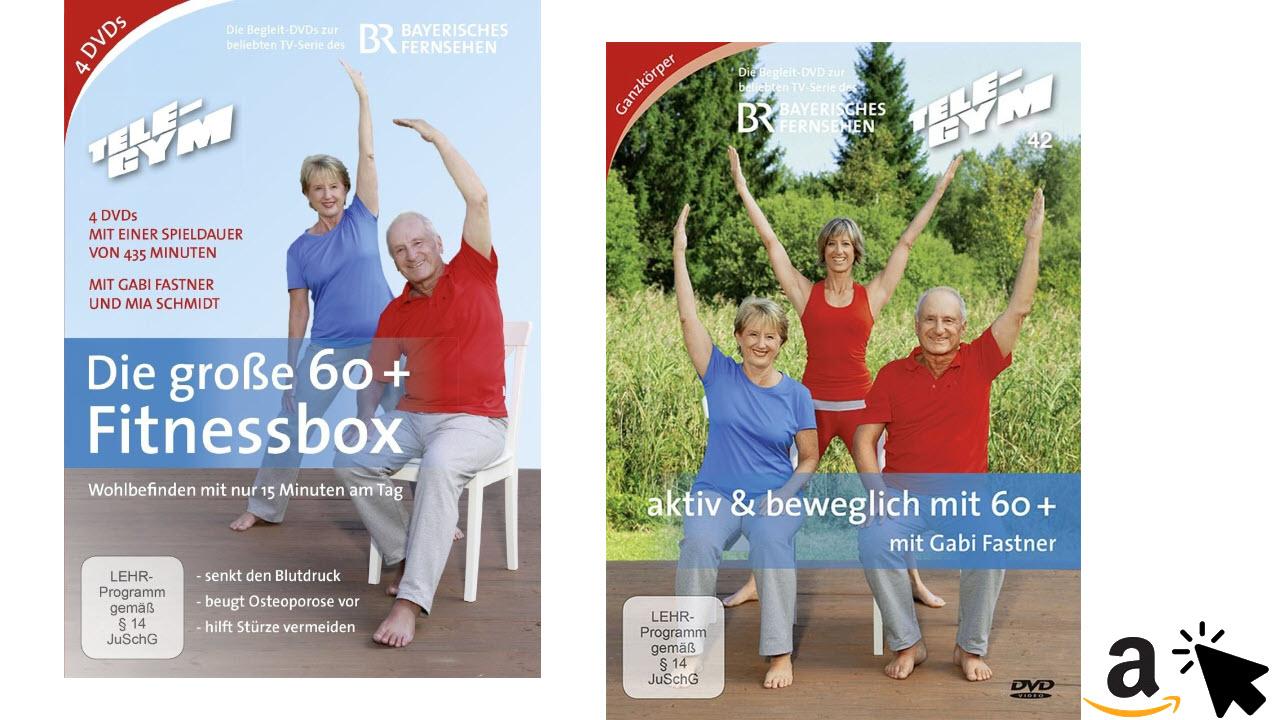 Fitness DVDs für Senioren - TELE-GYM Die große 60+ Fitnessbox