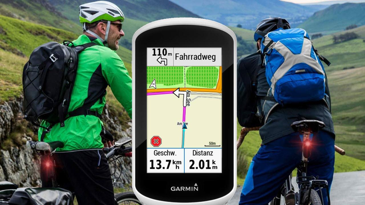 Garmin Edge Explore GPS-Fahrrad-Navi mit Europakarte Navigationsfunktionen Touchscreen