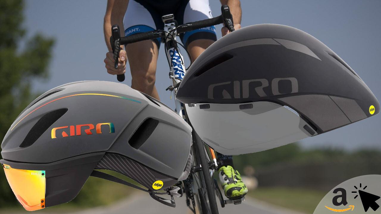 Giro Vanquish & Aerohead MIPS Rennradhelm mit Visier-Brille