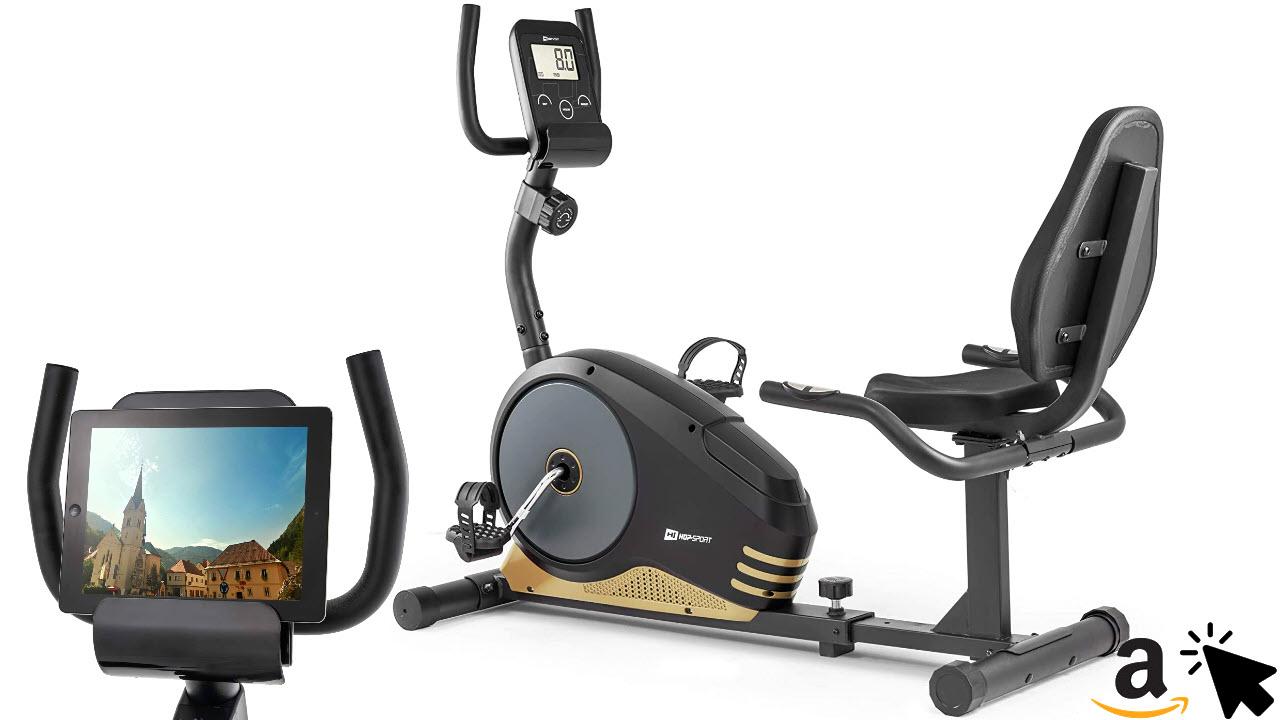 Hop-Sport Root Liegeergometer Liegeheimtrainer Sitzergometer