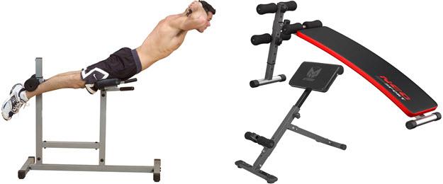 Gyronetics, Body-Solid und NeoSport Bauch-Rückentrainer für Hyperextension Rückenstrecker im Test Vergleich