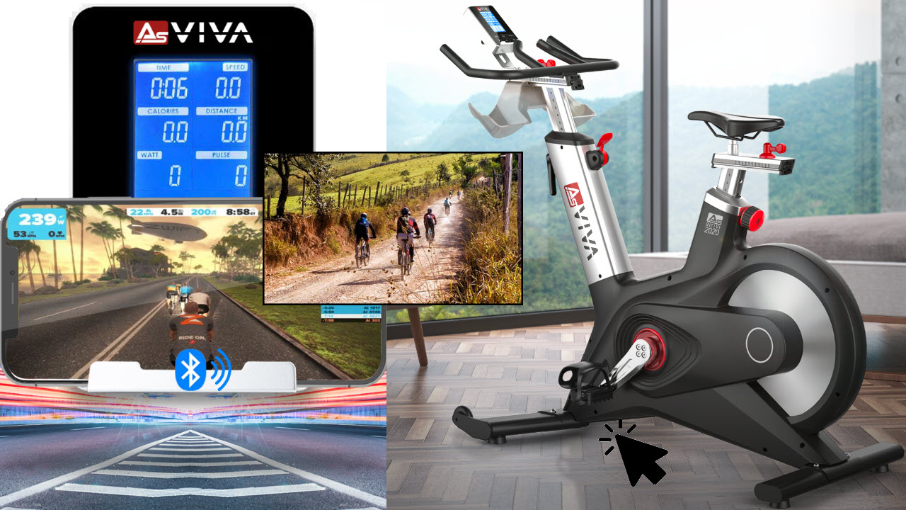 Indoor Cycle Speedbike AsVIVA S17 Studio Pro Bluetooth