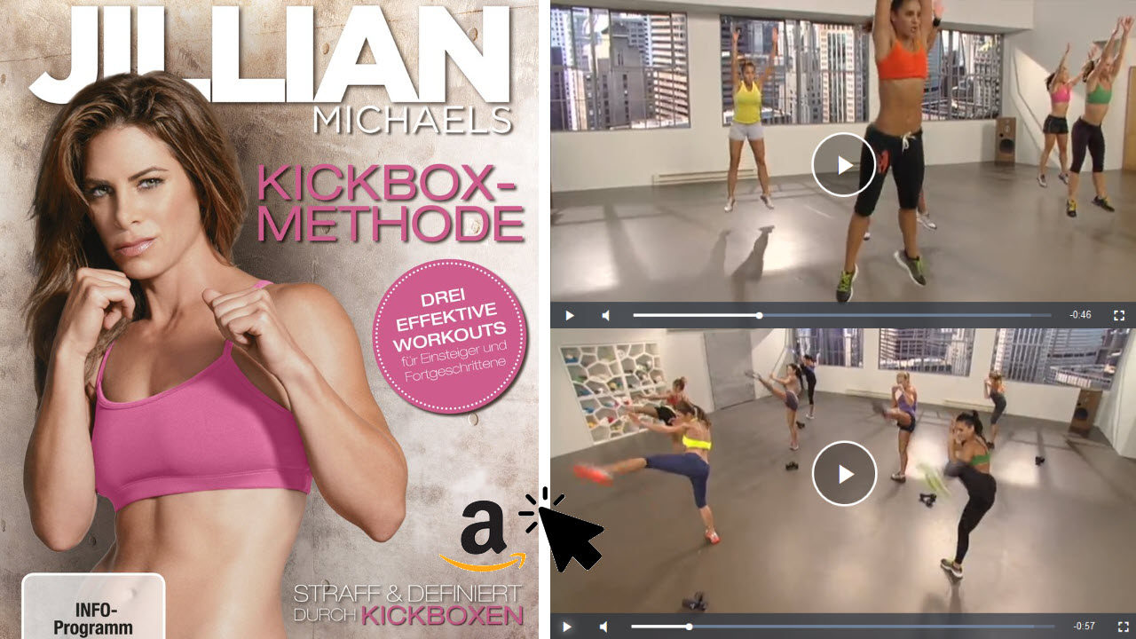 Jillian Michaels - Kickbox-Methode DVD Deutsch