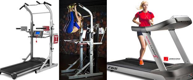 Laufband über 1000€: BH-Fitness Cardio Tower F2W und Sportstech F65