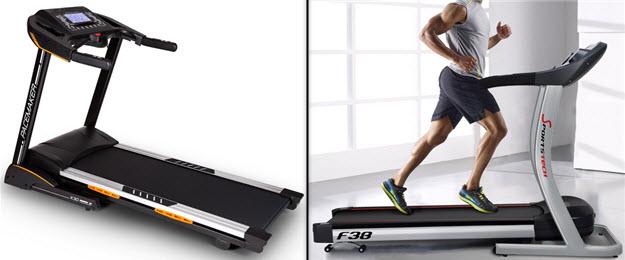 Profi Laufbänder von 500€ bis 1000€: Capital Sports Pacemaker X30 und Sportstech F38