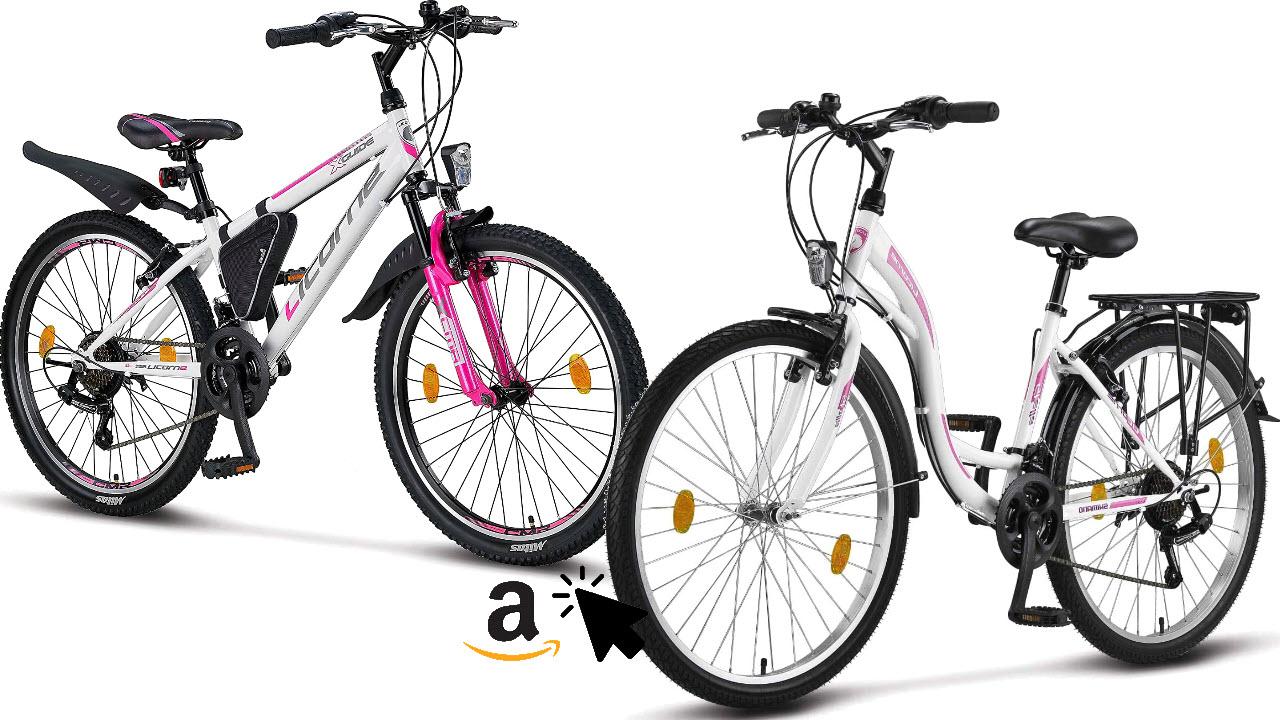 Licorne Bike Mädchen Jugendfahrrad Damen-Mountainbike Hollandrad