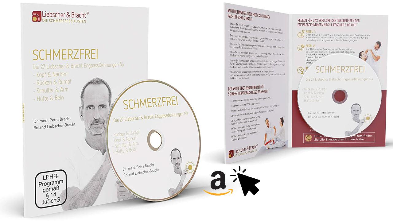 Liebscher & Bracht DVD Schmerzfrei - Rückenübungen zur Engpassdehnung