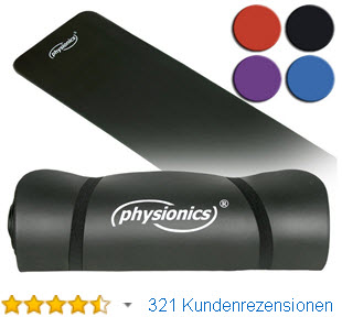 Physionics Sportmatte Yogamatte