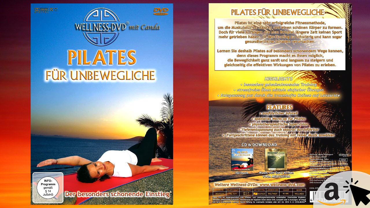 Pilates für Unbewegliche - besonders schonende Übungen für Anfänger