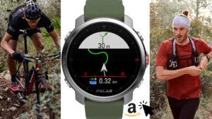 Polar Grit X Outdoor-GPS-Uhr Kompass Höhenmeter für Wandern, Trailrunning, Mountainbiking
