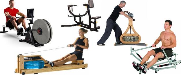 Rudergerät Rudermaschine Ruderstation Oberkörpertrainer