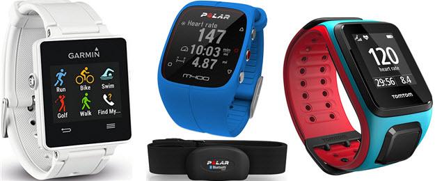 Schrittzähler mit Pulsmesser & GPS von Garmin, POLAR, TomTom