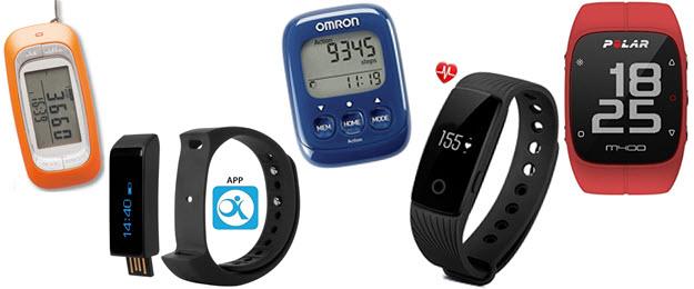 Schrittzähler zum Umhängen, Fitnesstracker mit Bluetooth und app, Omron Schrittzähler, Pedometer mit Pulsmesser und Polar GPS Trainingscomputer