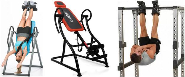 Schwerkrafttrainer: Inversionstisch & Gravity-Boots Rückentrainer