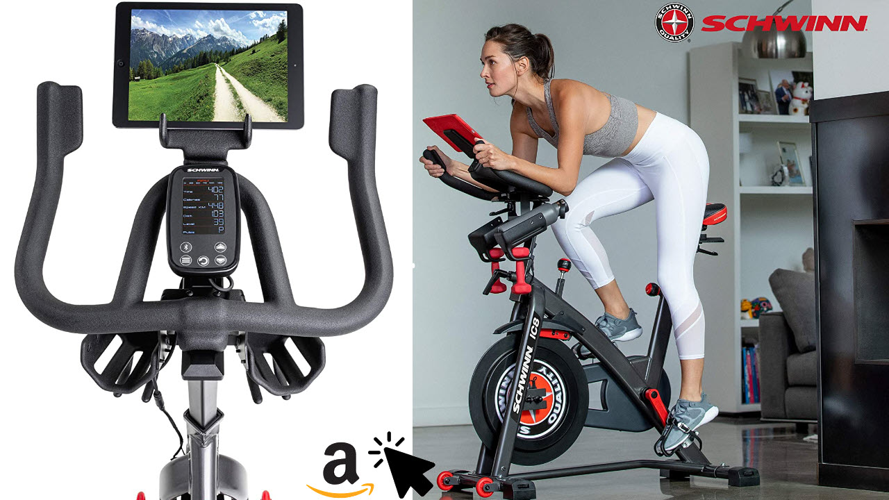 Schwinn Speedbike IC8 mit Bluetooth Indoor Cycle mit Magnetwiderstand