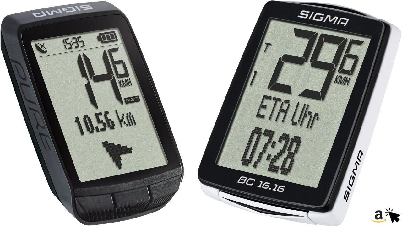 Sigma Sport GPS-Gerät Fahrrad Computer Tachometer
