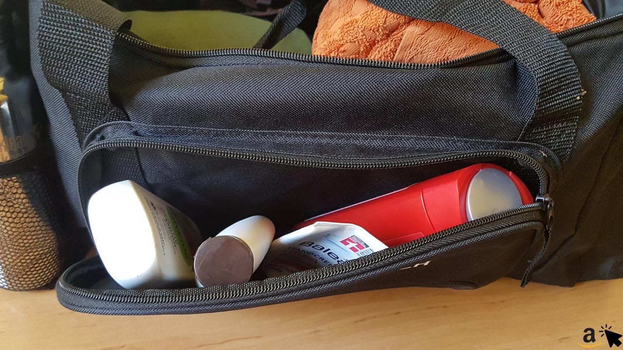Sportastisch Sporttasche Reisetasche - Seitentasche
