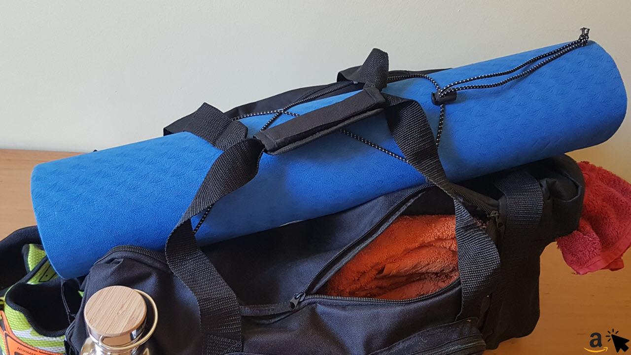 Sportastisch Sporttasche Reisetasche - Yogamatten Halterung Gummizug