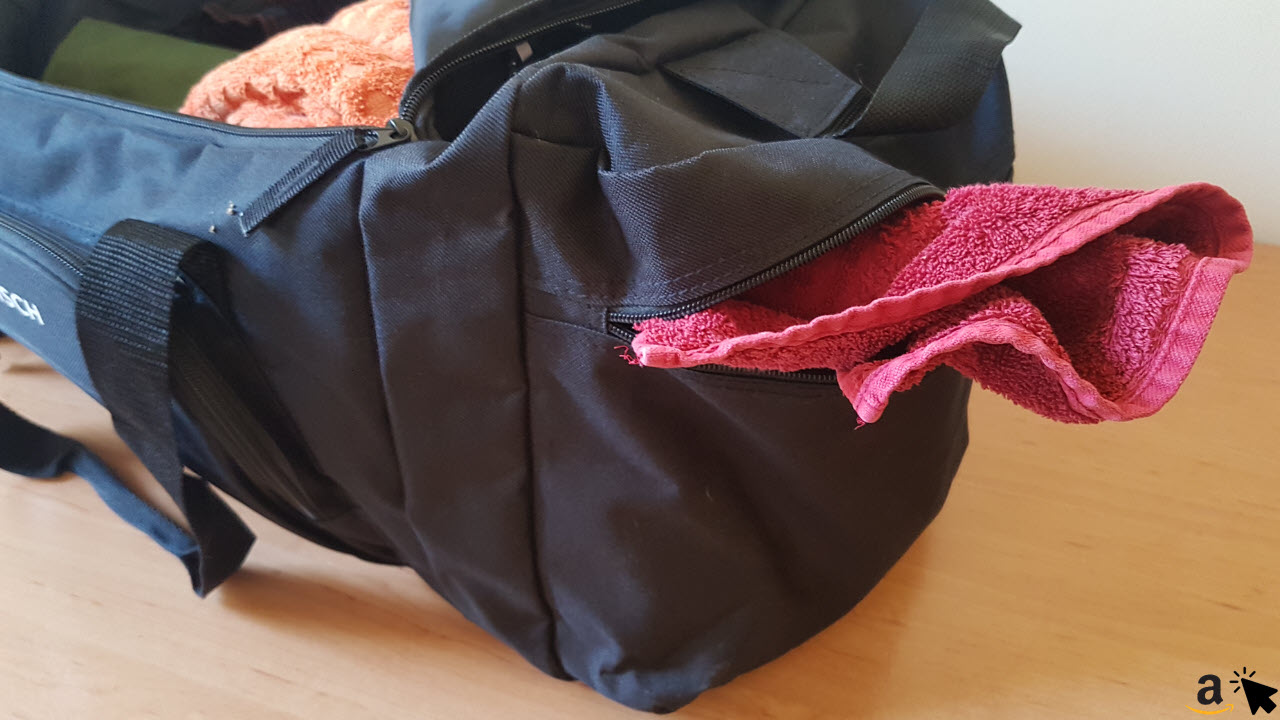 Sportastisch Sporttasche Reisetasche - großes Nassfach