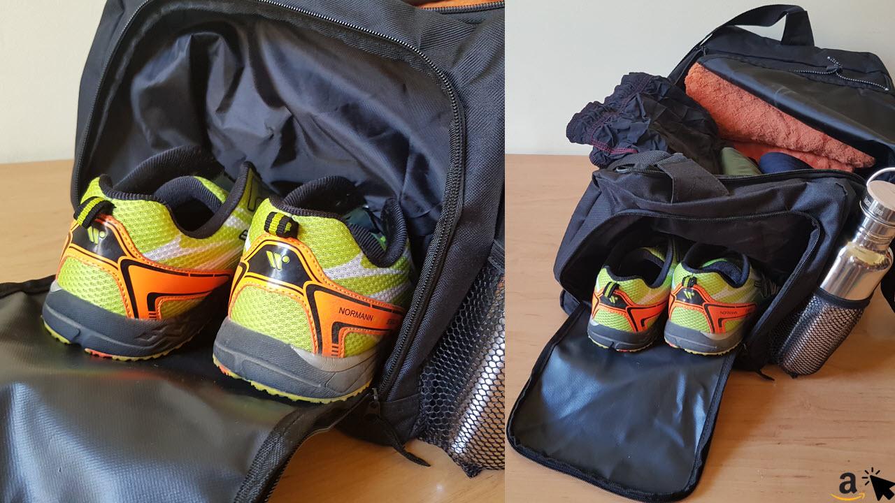 Sportastisch Sporttasche Reisetasche - großes Schuhfach