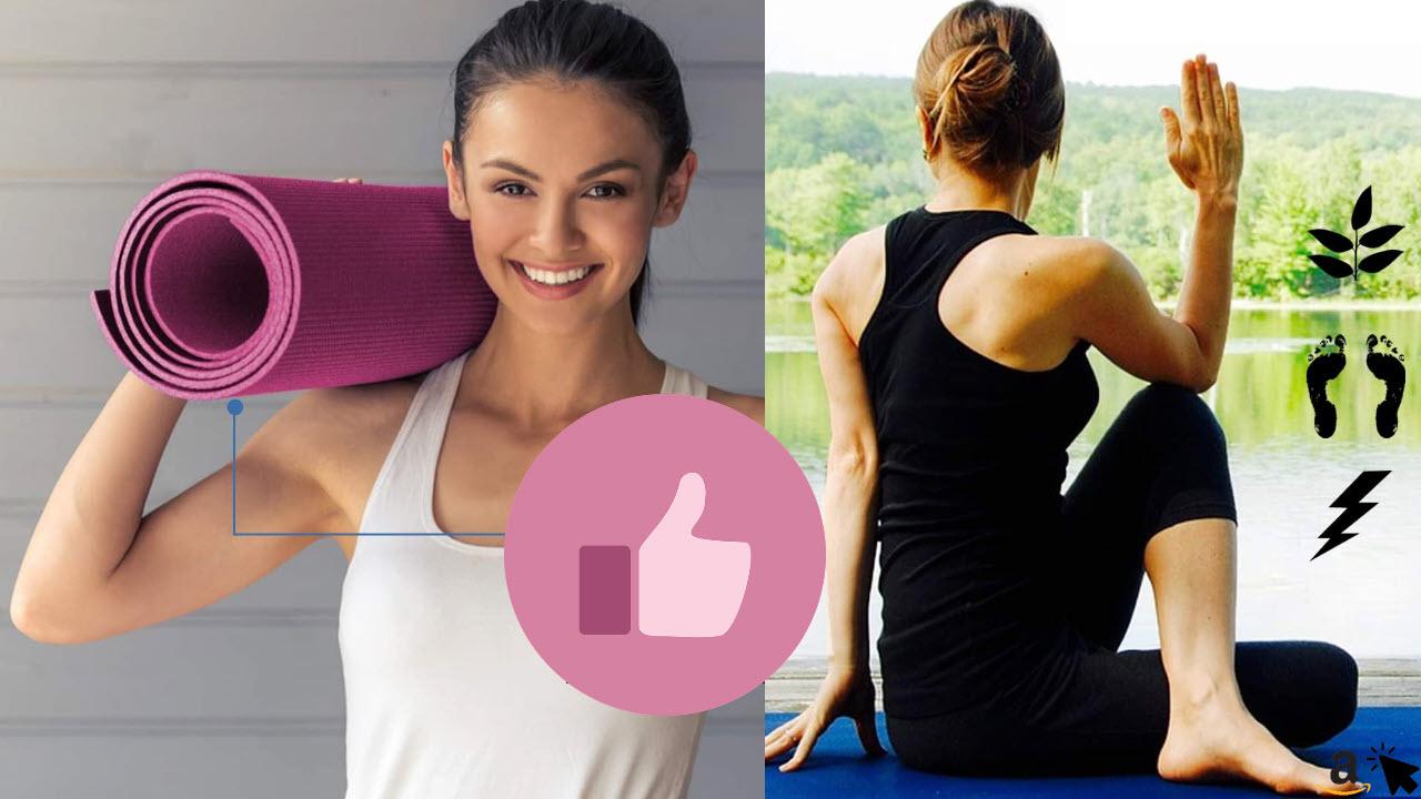 Sportastisch Yogamatte Gymnastikmatte Yoga Star rutschfest bei schwitzigen Händen und Füßen