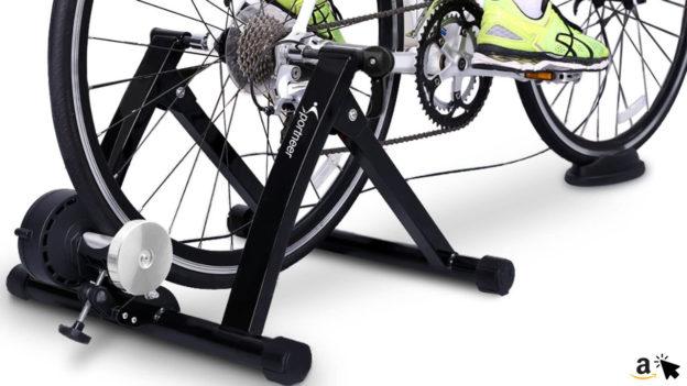 Sportneer Fahrradtrainer Fahrrad Rollentrainer mit Magnetwiderstand