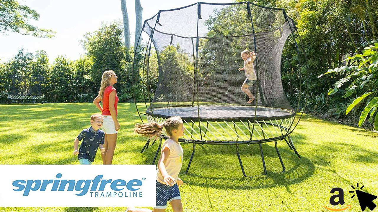 Springfree Outdoor Trampolin R79 - Sehr Sicher für Kinder