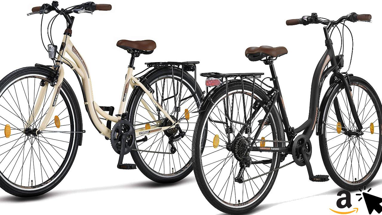 Stella Tiefeinsteiger-Damenfahrrad Mädchen-Damen-Citybike