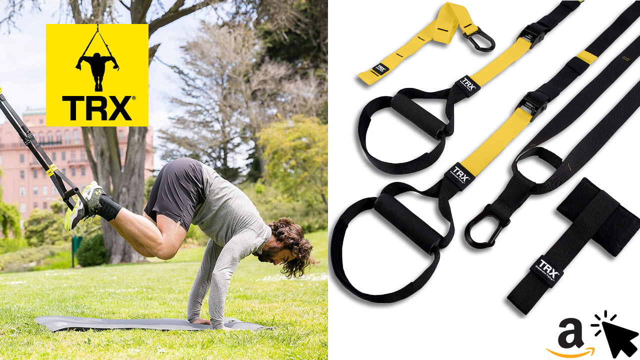 TRX ALL-IN-ONE Schlingentrainer Set - Sling Trainer Zuhause & Draußen