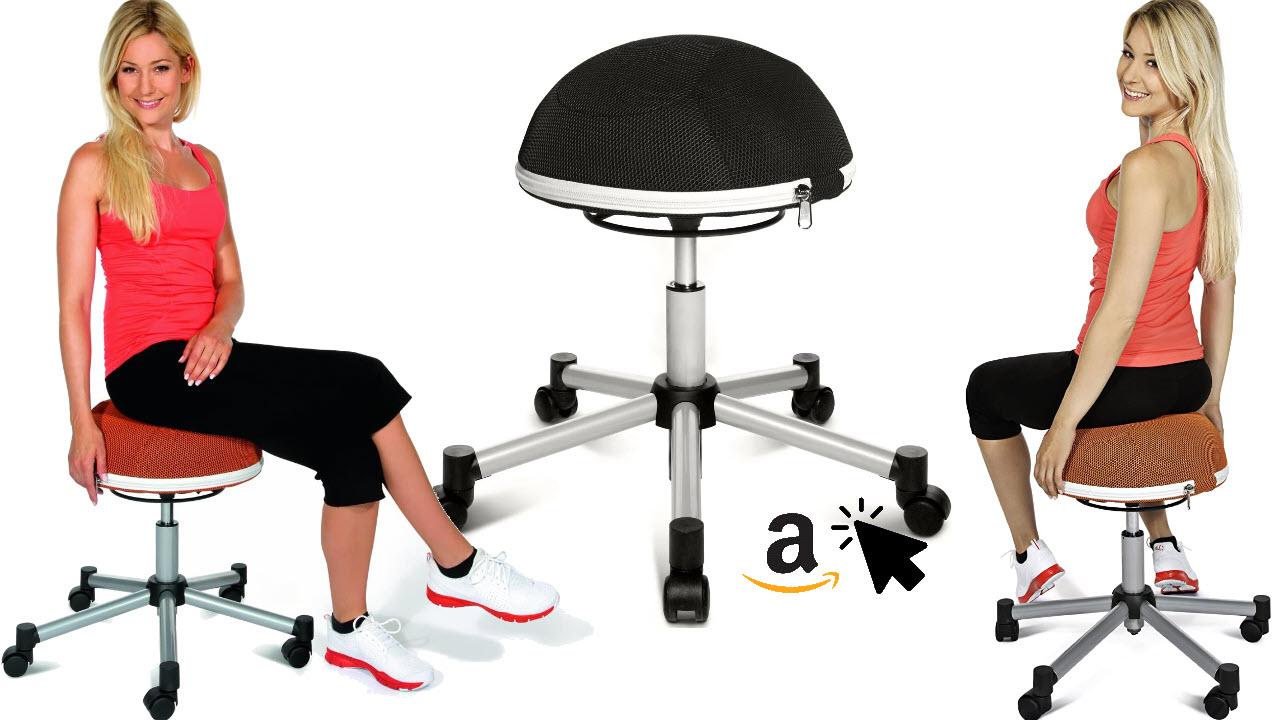 Topstar Sitness ergonomischer Ballstuhl Fitness-Hocker