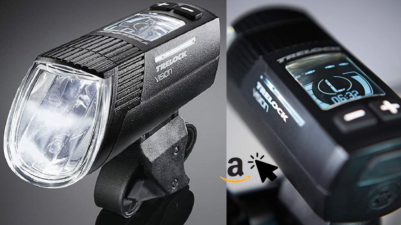 Trelock LS 760 I-Go Vision Frontscheinwerfer Akku-LED mit USB Ladefunktion