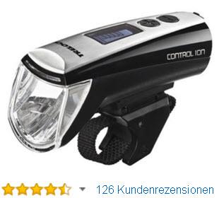 Trelock Beleuchtung LS 950 Control Ion Akku Fahrradbeleuchtung Batteriefrontschweinwerfer