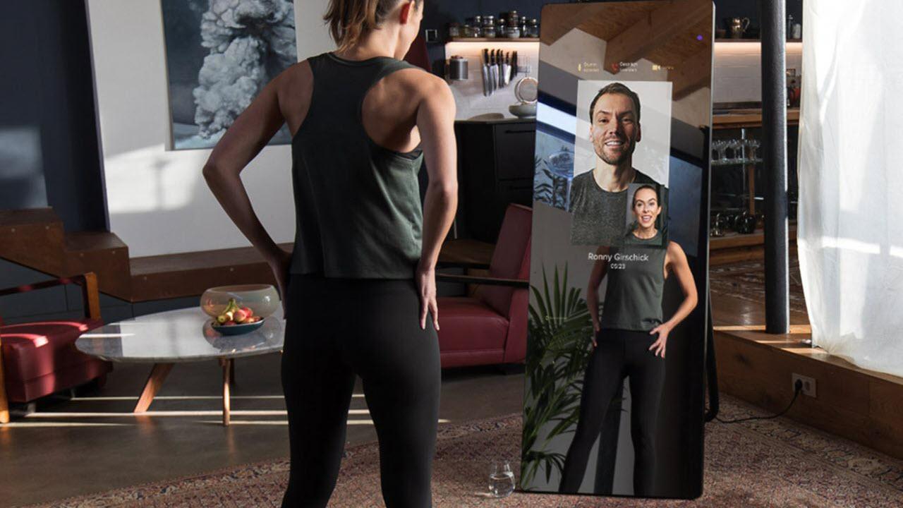 VAHA Digitale Smart Fitness Spiegel - Online Fitness Coach Zuhause