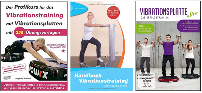 Vibrationstraining Übungen Bücher & DVD