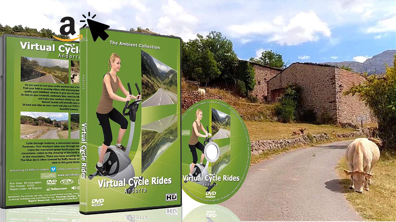 Virtuelle Fahrradtouren DVD - Andorra - für Indoor Radfahren