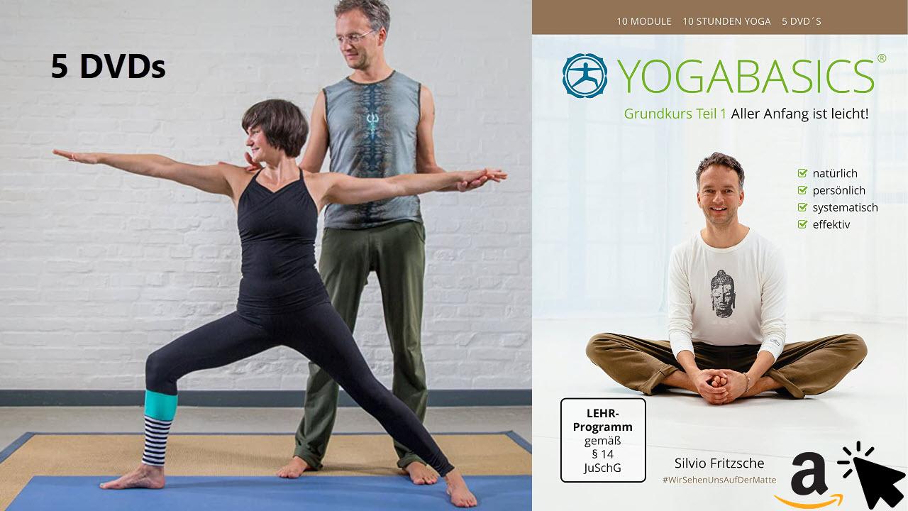YOGABASICS Grundkurs 10 Stunden Yoga für Anfänger