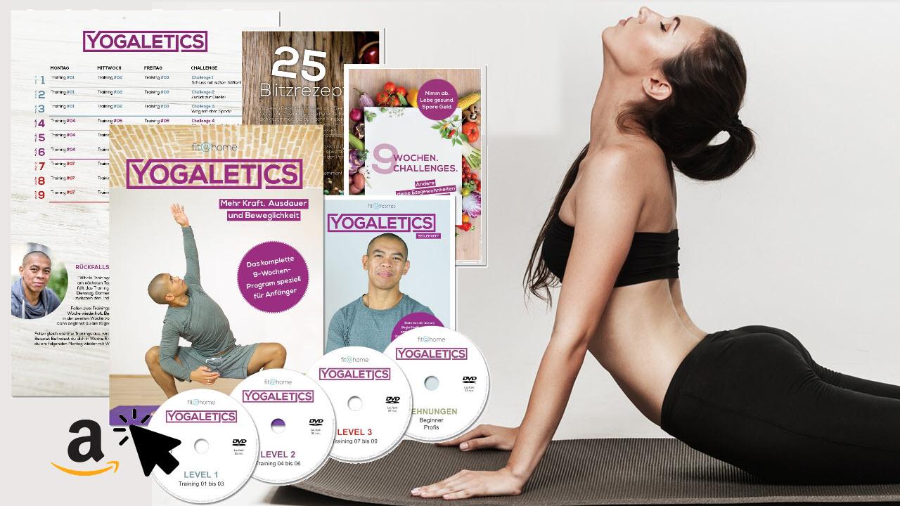 YOGALETICS 9-Wochen-Workout Yoga-Fitness für Anfänger